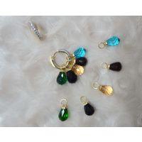 Beautiful changeable stone earrings-EG059