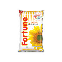 Fortune Sunflower Oil, 1 lt, pouch
