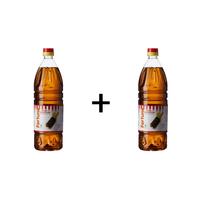 Combo of 2 Kachi Ghani Mustard Oil 1 lt pet