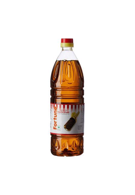 Fortune Kachi Ghani Mustard Oil, 1 lt, pet