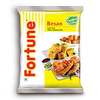 Fortune Besan, 1 kg, pouch