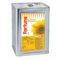Fortune Sunflower Oil, 15 lt, tin