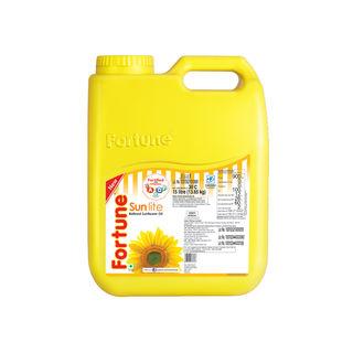 Fortune Sunflower Oil, jar, 5 lt