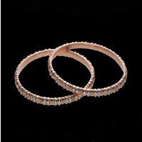 Diamond Bangles, 18k  51.70gms, e/f-vvs1  6.96cts