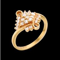Diamond Ring, 0.48cts, 18k 3.30gms, e/f-vvs