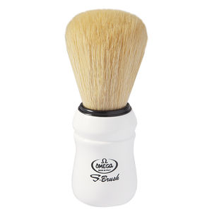 Omega S-Brush fiber shaving brush Omega S10049 S-Brush Pro Synthetic Boar Shaving Brush