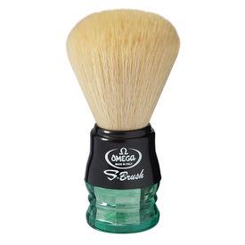 Omega S10077 S-Brush fiber shaving brush -Synthetic Boar Shaving Brush