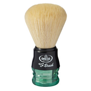 Omega S10077 S-Brush fiber shaving brush -Synthetic Boar Shaving Brush