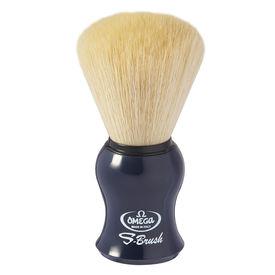 Omega S-Brush fiber shaving brush Omega S10065 S-Brush Synthetic Boar Shaving Brush