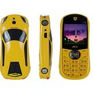 Agtel Ferrari Car Model Dual Sim Mobile Phone in Yellow Colour, yellow, 7 days return / replacement policy after delivery , generally delivered by 5 working days
