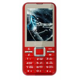 Forme M660 Red Colour Three Sim Mobile phone in Red Colours