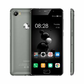 Dami D6 4G water Resistant & Wireless Charging 5.0 Inch 3GB RAM 32GB ROM Octa Core 1.5 GHz With 16MPix /8Mpix camera With Jio Sim Support Smartphone in Black Colour