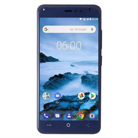 OKWU PI Plus 4G VoLte 3GB RAM Model with 5.0-inch 1080p display, (Reliance Jio 4G Sim Support) 16 GB Internal Memory and 13 Mpix /8+ 5 Mpix dual Camera HD Smartphone in Blue Colour
