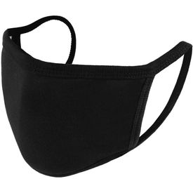 Maplin Washable & Reusable 3 Layer Mask of 10 Pcs Set in Black Colour