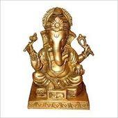 Ganesha Idol, brass