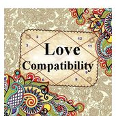 Love Compatibility Horoscope! Love me - Love me not!, pink paper, 12