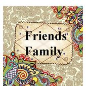 Friends and Family! Bonds of Life, pink paper, 1