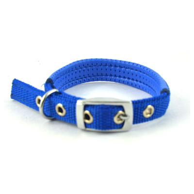 Easypets COMFORTFIT Dog Collar (Small) (Blue)