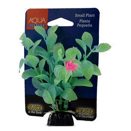 Aqua Culture Small Plastic Decoration Plant Pequena