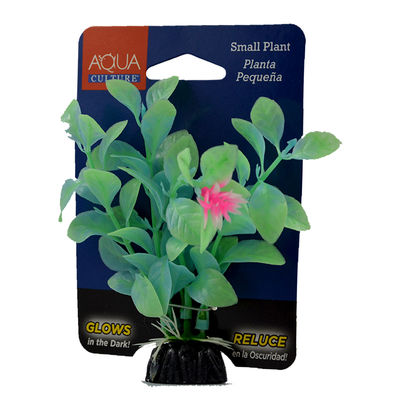 Aqua Culture Small Plastic Decoration Plant Pequena