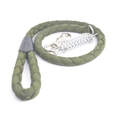 Easypets ARMY Special Dog leash with Spring (Olive Green)