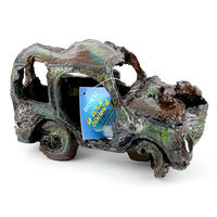 Boyu Aquarium Decoration RO-2202 (Antique green car)