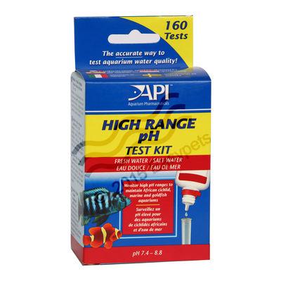 API FW/SW High Range pH Water test kit