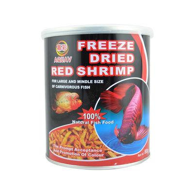 Aquav Freeze Dried Red Shrimp (80 G) - Fish Food