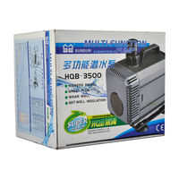 SunSun HQB - 3500 Multi Function Submersible Pump