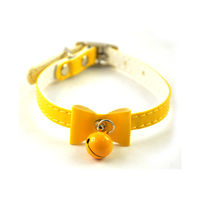 Easypets Cat collar with buckle and bell (Yellow)