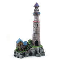 Boyu Aquarium Decoration C-01(LIGHT HOUSE)