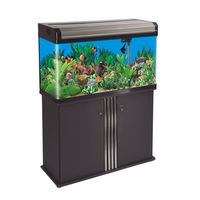 Boyu EA 80E Aquarium Tank, tank with cabinet