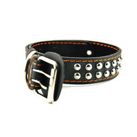 Easypets DURALEAT Dog Collar (Medium) (Black)