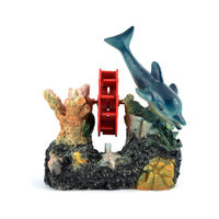 Ocean Free Aquarium Decoration (Dolphin)