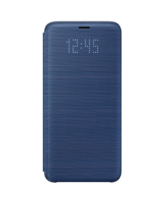 SAMSUNG GALAXY S9 PLUS LED VIEW COVER,  blue