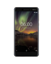 NEW NOKIA 6 2018 4G LTE 32GB DUAL SIM,  blue gold