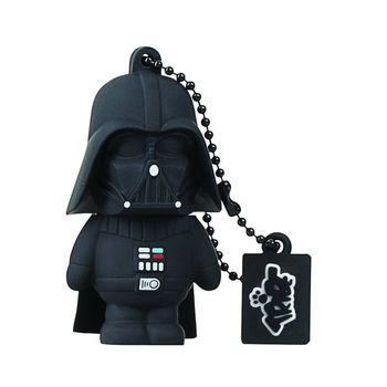 TRIBE USB FLASH DRIVE 16GB STAR WARS DARTH VADER,  black