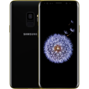 24K GOLD PLATED SAMSUNG GALAXY S9 DUAL SIM,  black