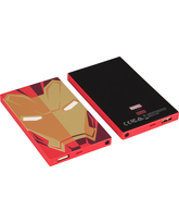 TRIBE POWER BANK 4000MAH IRON MAN,  red