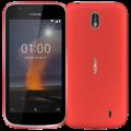 NOKIA 1 4G LTE 8GB DUAL SIM,  red