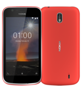 NOKIA 1 4G LTE 8GB DUAL SIM,  red