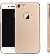MYCANDY IPHONE 7 PLUS TITANIUM BACK CASE GOLD