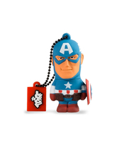 TRIBE USB Flash Drive 16GB Captain America,  blue