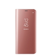 CLEAR VIEW STANDING COVER FOR SAMSUNG GALAXY S8 PLUS,  pink