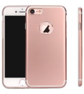 MYCANDY IPHONE 7 PLUS TITANIUM BACK CASE,  rose gold