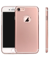 MYCANDY IPHONE 7 PLUS TITANIUM BACK CASE,  rose gold