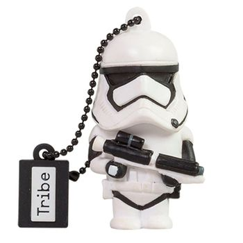 TRIBE USB FLASH DRIVE 16GB STAR WARS TFA STORM TROOPER,  white