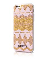 GUESS IPHONE 7 / IPHONE 8 BACK CASE WITH TRIBAL 3D EFFECT,  pink