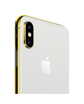24K GOLD PLATED APPLE IPHONE XS MAX,  silver, 512gb