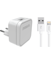 EVEREADY LIGHTNING WALL CHARGER 2.4A WHITE